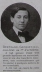 BERTRAND Georges, 001er RA