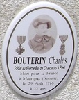 BOUTERIN Charles (Cannes, Alpes-Maritimes) 063ème BCA