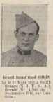 HOSKIER Ronald Wood, (South Orange, Etats Unis), escadrille N. 124