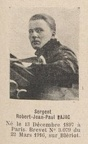 BAJAC Robert Jean Paul, (Paris), pilote escadrille N. 48