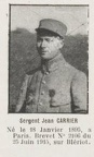 CARRIER Jean, (Paris), pilote