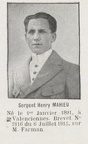 MAHIEU Henry, (Valenciennes, Nord), observateur escadrille M.F 63