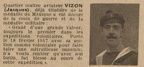 VIZON Jacques, quartier mâitre aviateur