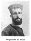 LALLIER Paul, (Paris) Zouave