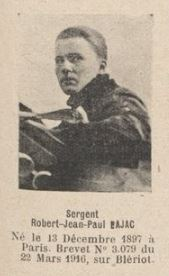 BAJAC Robert Jean Paul, (Paris), pilote escadrille N. 48, 5-6.JPG